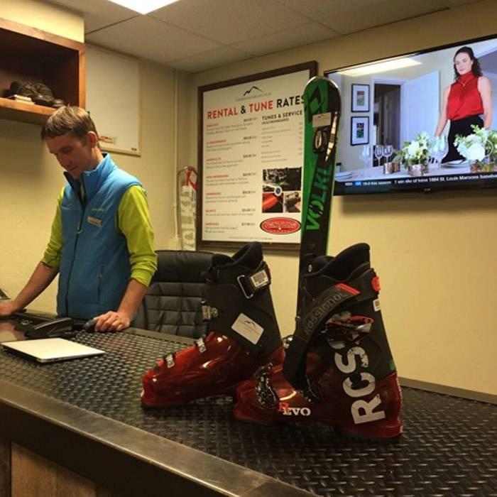 Bachelor Gulch ski shop Colorado
