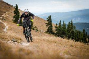 mountain biking vail
