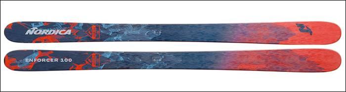 nordica ski rental enforcer 100