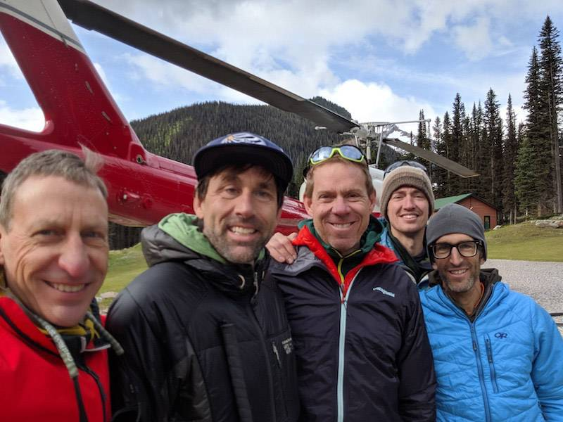 Helicopters are good for more than skiing